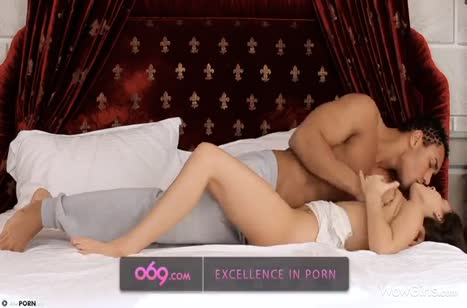 Развратные нимфоманки любят секс с неграми #2175